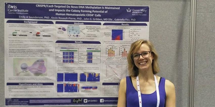 Dr Emily Saunderson at ASH 2019.