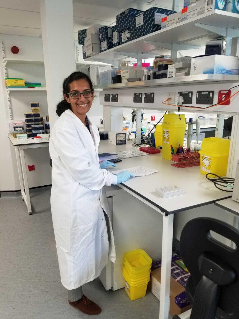 Vinaya in the laboratory.